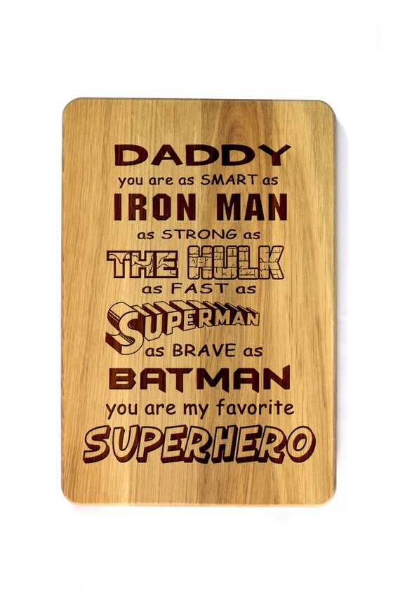 Father S Day Gift Cutting Board Gift For Father Fathers