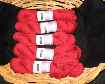 Yarn - Louet Gems  - Cherry Red Color!