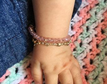 Baby Bracelet Ballet Pink