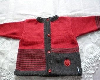 """Jacket, vest """"Ladybug"""""""