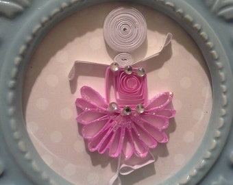 Quilled Pinky trio