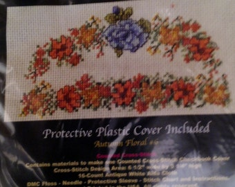 Counted Cross Stitch Kit - Checkbook Covers - Various Designs