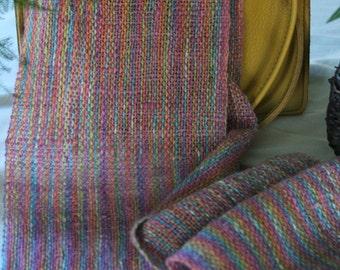 Alpaca and Peace Silk Handwoven Scarf