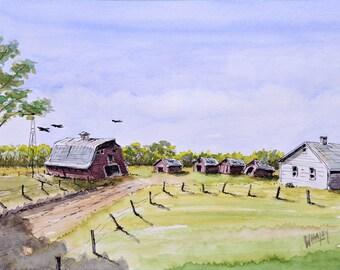 Abandoned Farm, Alberta