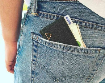 Thin Wallet Green