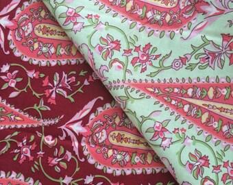 Garden Paisley Baby Blanket