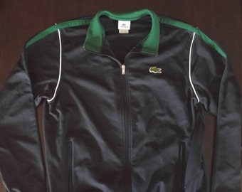Lacoste sport mens athletic zip up jacket
