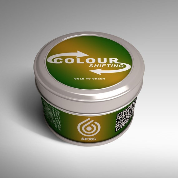 Colour Shifting Pigments - Gold To Green