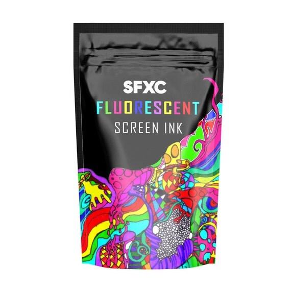 Fluorescent Super Day Glow Screen Ink