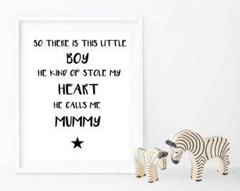 Little Boy - Print