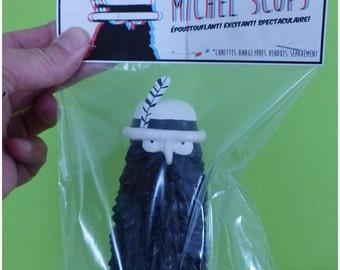 3 dimension Michel Scops