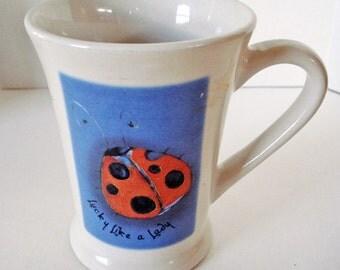 Lady Bug with Coffee?
