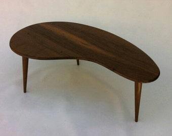 R&A Custom Mid Century Modern Atomic Kidney Table