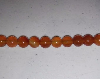 SALE! Carnelian beads 10mm round beads 10mm carnelian beads round carnelian beads orange stone beads