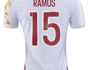 Spain jersey away euro 16