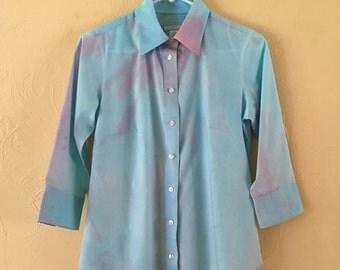 Un Tie-dye Small/Petite blouse