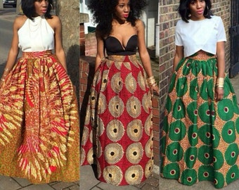 Dashiki long skirts