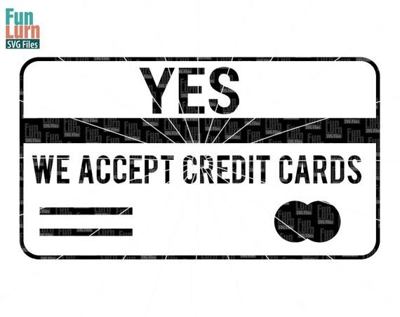 Craft Fair We Accept Cards