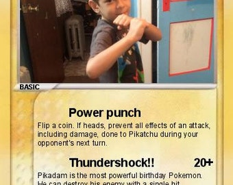 Custom Pokemon cards