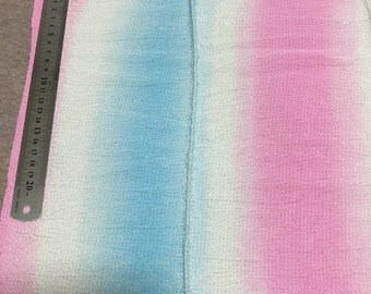 Japanese crepe cloth in gradation colour