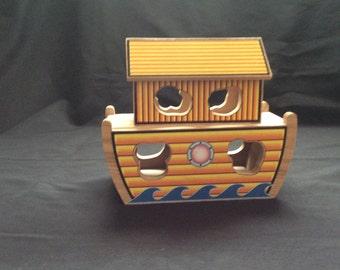 Noah's Ark, ark puzzle