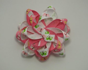 Butterfly Loopy Hair Clip