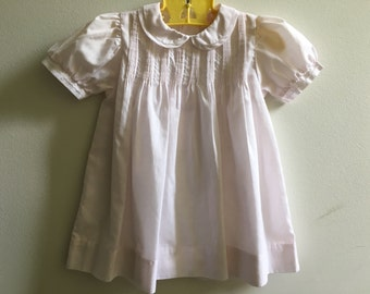 Vintage Petit Ami Light Pink Dress 9 Months