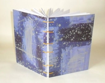 Notebook A5 - starry, starry night / / notes / / memories / / journal / / gift