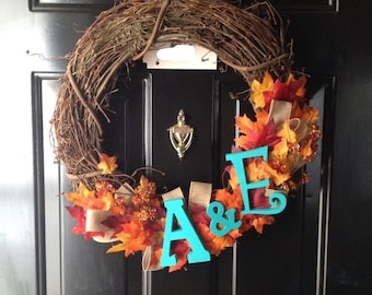 "aDOORable ""Fall Time"" Wreath"