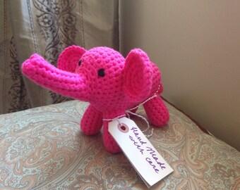 Pink Elephant Amigurumi