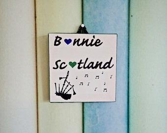 Bonnie Scotland canvas