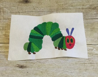 The Hungry Caterpillar Embroidery Design, Applique