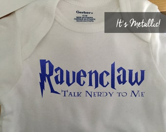 Ravenclaw Onesie - Ravenclaw Baby Clothes - Ravenclaw nursery -  Harry potter onesie - Harry potter baby clothes - Harry potter baby shower