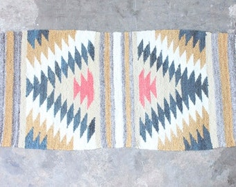 Small Wool Accent Rug
