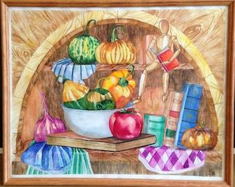 Autumn harvest. Pantry.