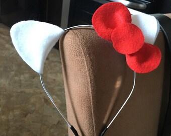 hello kitty ears headband
