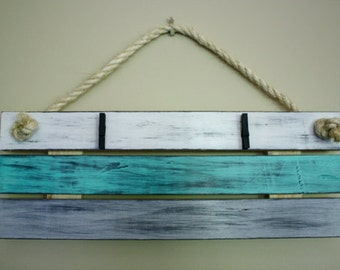 Rustic Hanging Picture Display