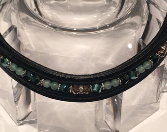 Multi-Colored Beaded Browband