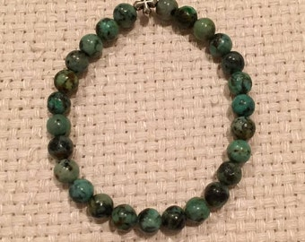 Stretch Bracelet - African Turquoise