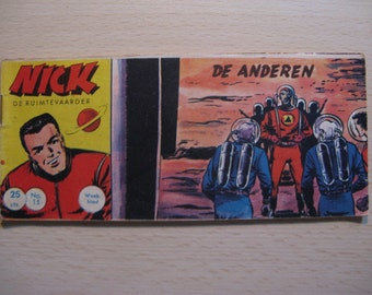 An old Lilliput comic book: Nick the spaceman, the others ... 1961