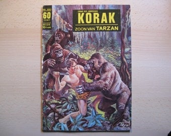 An old Classics comic book nr (200) 1 Edgar Rice Burroughs: Tarzan's son, Korak flight ...