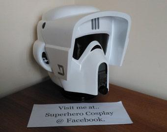 Star Wars Scout Trooper 1:1 display helmet