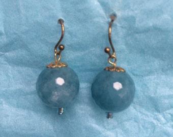 Sassy Ball Drop Earrings