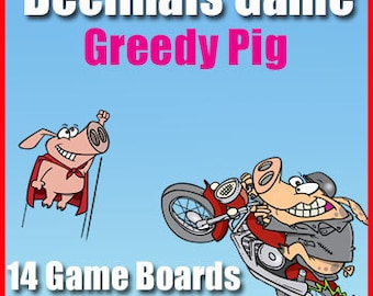 Game of Pig - The Decimals Edition