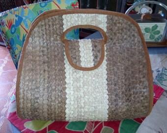 vintage straw handbag! ORIGINAL by its form