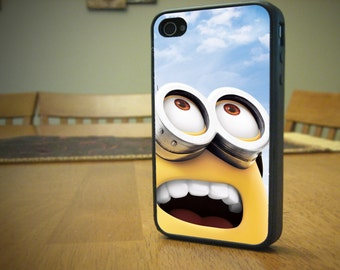 Minion Sky Case for iPhone 4/4s, 5/5s, 6/6s, 6/6s Plus, SE and Samsung S3 and S4