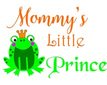 SVG File for Mommy's Little Prince DXF EPS