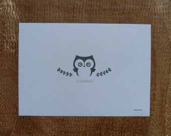 Owl Envelope