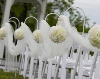 Illiminating, Non-Breakable, Flower Arrangement/Bouquet For Wedding Aisle Church/Synegogue Gorgeous Display