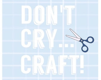 Dan and phil etsy for Don t cry craft